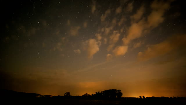 twilight night sky with clouds - caucasus stock videos and b-roll footage