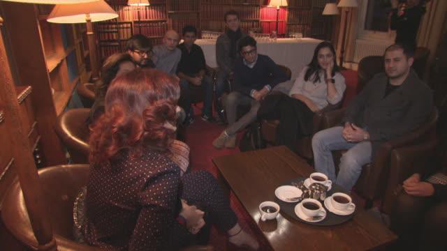 Twinkle Khanna Malala Yousafzai at 'Pad Man' Producer Twinkle Khanna addresses The Oxford Union at The Oxford Union on January 18 2018 in Oxford...