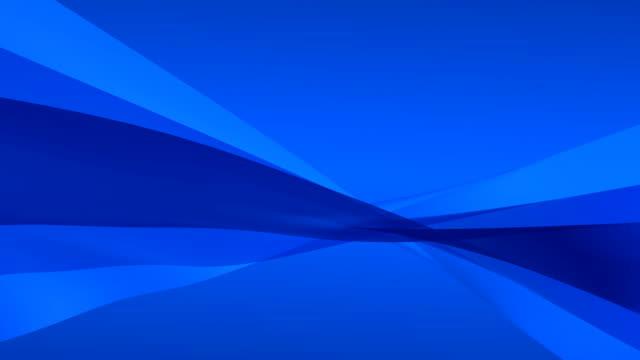 ねじれた生地ループ背景に青色 - 素材点の映像素材/bロール