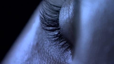 twitching eyelid - sleeping stock videos & royalty-free footage