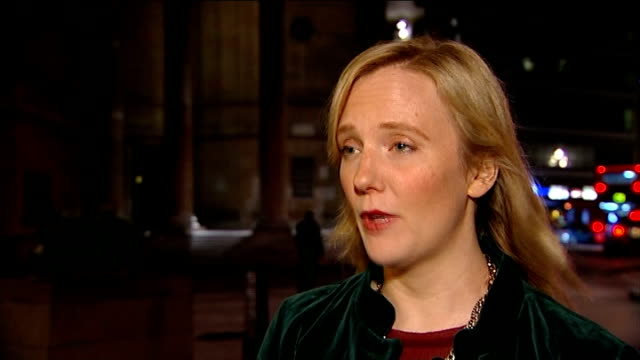 Twitter bosses to face questions over their response to online abuse EXT / NIGHT Stella Creasy MP interview SOT Hands using laptop computer Twitter...