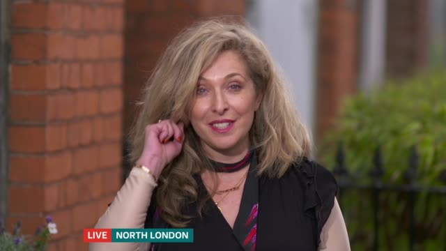 twitter boycotted over failure to remove antisemitic content england london ext tracyann oberman live interview via internet sot - content stock-videos und b-roll-filmmaterial