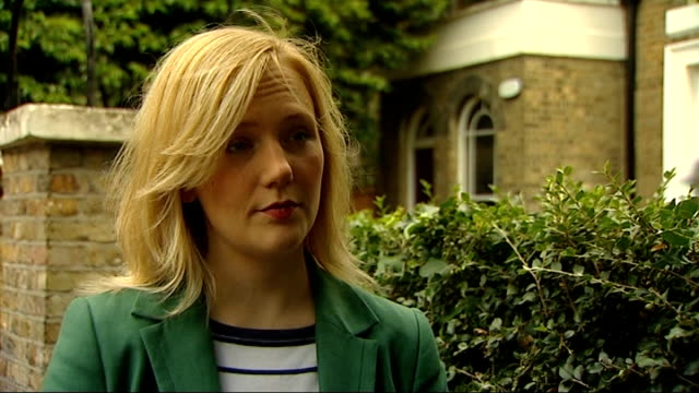 Stella Creasy interview and setups ENGLAND London Walthamstow EXT Stella Creasy MP interview re apology by Twitter SOT / setups of Stella Creasy...