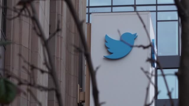 twitter says its profits tripled in the past quarter even as it ramped up efforts to root out abuse and misconduct on its short messaging platform - online messaging stock videos & royalty-free footage