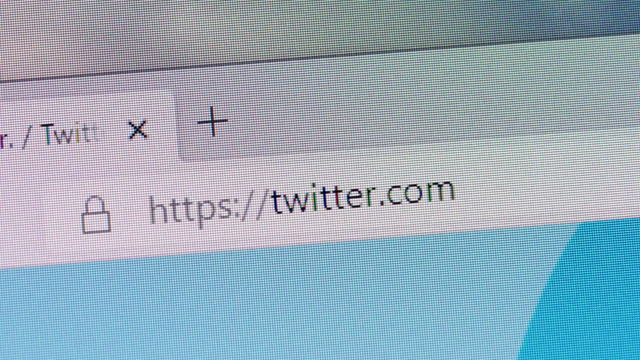 twitter's url is typed in web browsers' address box on december 30, 2020. - social media stock videos & royalty-free footage
