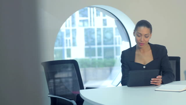 two business women meeting - job interview stock videos and b-roll footage