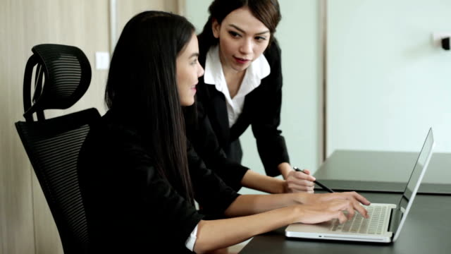two businesswomen team - secretary stock videos & royalty-free footage