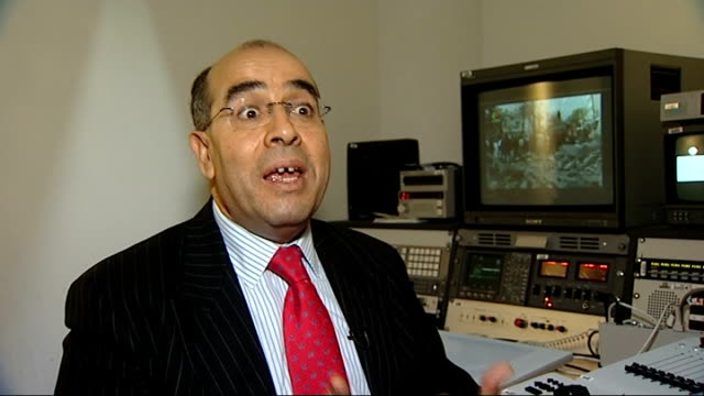 Two car bombs kill at least 67 people in Algiers ENGLAND London INT Saad Djebbar interview SOT