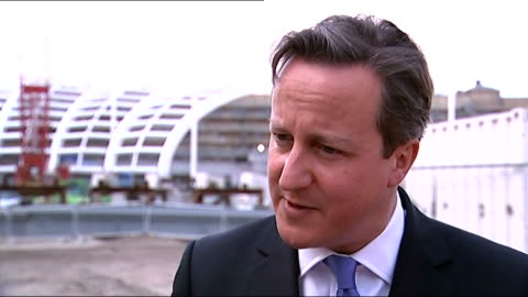 two cardiff students fighting with isis group in iraq; england: manchester: ext david cameron mp interview sot - most important thing is to stop this... - iraq bildbanksvideor och videomaterial från bakom kulisserna