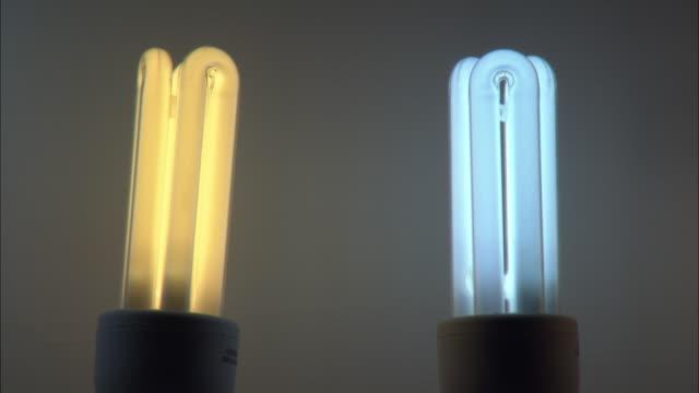 CU Two compact fluorescent bulbs / Beijing, China