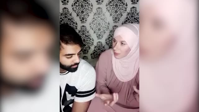 "two couples who found love on a muslim dating app have made wedding plans within months after their relationships were ""accelerated"" by lockdown... - computer equipment stock videos & royalty-free footage"
