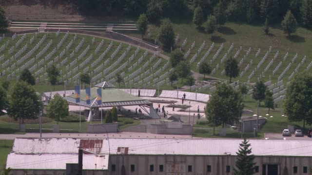 two decades after thousands of muslims were slaughtered by bosnian serb forces in srebrenica the town remains locked in a cycle of recrimination and... - srebrenica stock videos and b-roll footage