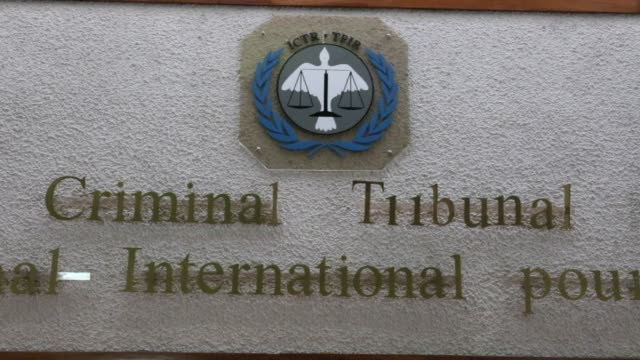 two decades of work and 61 convictions at a cost of nearly two billion dollars the international criminal tribunal for rwanda shuts shop amid... - international court of justice stock videos and b-roll footage