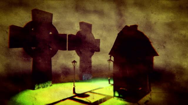Two druids crosses