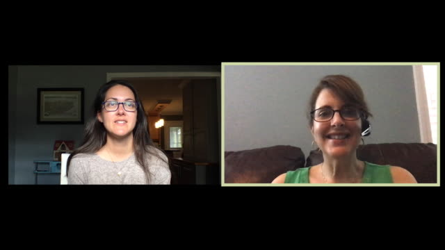 two female colleagues working from home hold a video conference call. - video call stock videos & royalty-free footage