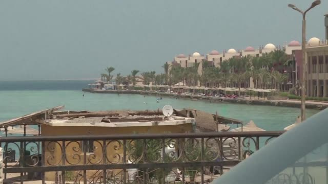 two foreign women were killed on friday and four others were wounded when an assailant stabbed them at an egyptian red sea beach resort officials said - hurghada stock-videos und b-roll-filmmaterial