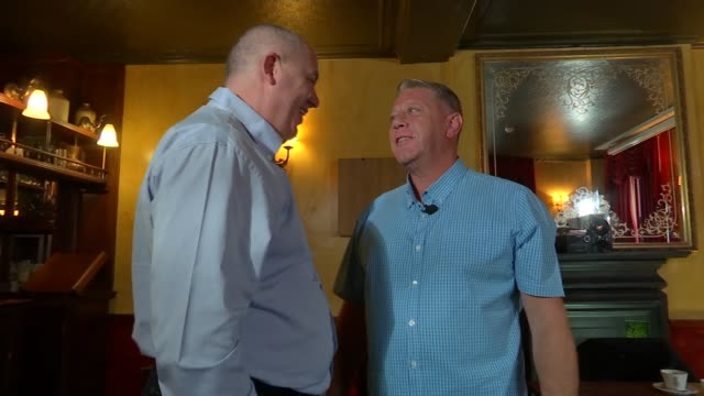 Two former footballers who say they were abused as children by the same coach meet for the first time ENGLAND INT Russell Davy and Gary Johnson...