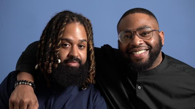 two friends hugging - black hair stock videos & royalty-free footage