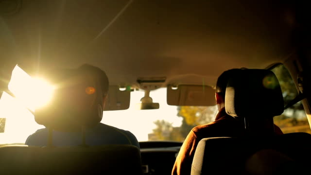 two friends in the car - reportage stock videos & royalty-free footage