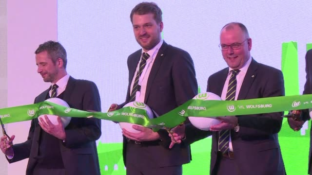 Two German Bundesliga clubs opened offices in China on Wednesday VfL Wolfsburg in Beijing and FC Bayern Munich in Shanghai as they aim to widen their...