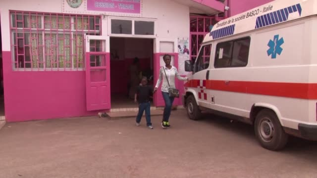 two hospitals in yaounde have been equipped with point of care early infant diagnosis testing devices for infants which allows patients born from hiv... - retrovirus stock videos and b-roll footage