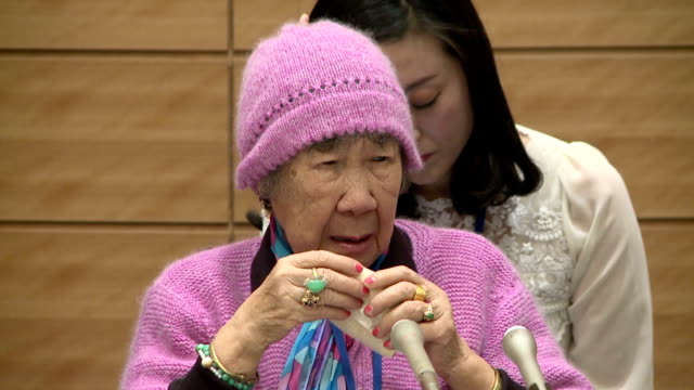 two korean women who were forced to work in japan's wartime military brothels criticized on tuesday the landmark deal signed late last year between... - korean new year stock videos & royalty-free footage