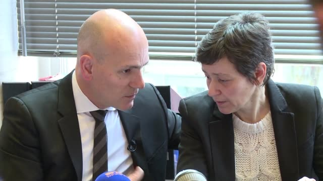 two months after drug trials in rennes claimed the life of one man and left five more hospitalised the lawyer representing the late guillaume... - rennes stock videos & royalty-free footage