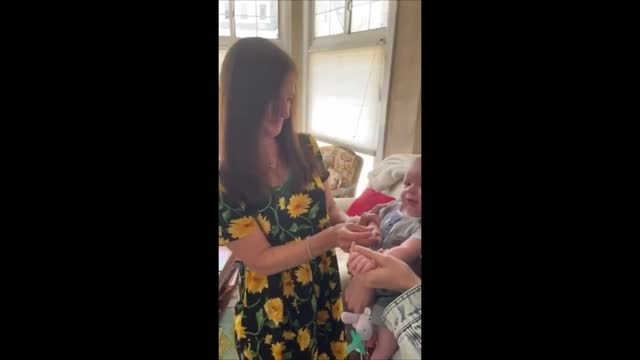 two months have passed since marty gandelman https://newswire.storyful.com/storylines/*/stories/234916 watched via zoom as his wife, stephanie, gave... - grandparent stock videos & royalty-free footage