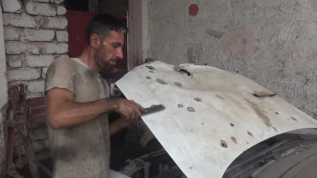 Two months since Iraqi forces recaptured Mosul from Islamic State group fighters Mohammed Seddiq's bullet riddled car is still off the road and his...