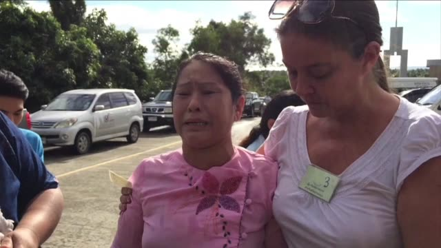 two myanmar migrant workers accused of murdering a pair of british backpackers on a thai island face a verdict in a case that sullied the kingdom's... - insel ko samui stock-videos und b-roll-filmmaterial