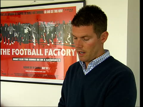 Two new films accused of promoting football violence ITN London INT Nick Love interviewed SOT Films don't incite violence