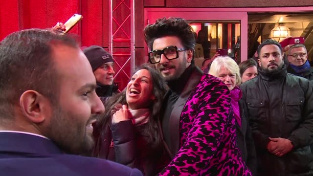 two of bollywood's biggest stars present gully boy a still rare female directed blockbuster that pokes at enduring taboos at the berlin film festival - bollywood stock videos and b-roll footage