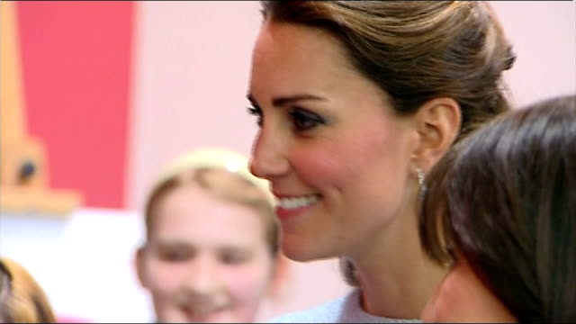two people charged in paris over topless pictures of the duchess of cambridge england london national portrait gallery int close shot catherine... - abbigliamento intimo video stock e b–roll