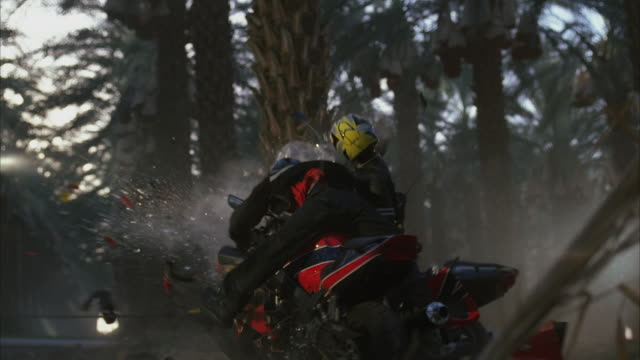 ms two people on bikes colliding head on - crash stock videos and b-roll footage