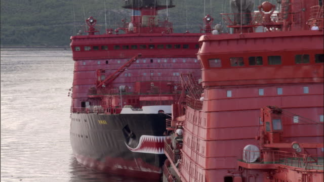 ZO, WS, Two Russian nuclear icebreakers in port, Russia