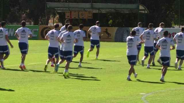 two star players two teams and two dreams the netherlands take on argentina in the world cup semi finals on saturday with both sides ready to battle... - oranje stock videos & royalty-free footage