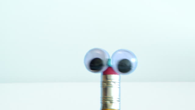 two talking pencils - puppet stock videos and b-roll footage