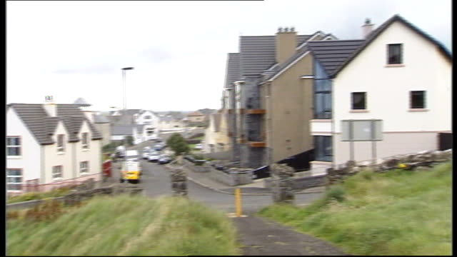 stockvideo's en b-roll-footage met two teenage boys killed by carbon monoxide poisoning interviews with mothers county londonderry castlerock ext houses and holiday apartments... - carbon monoxide