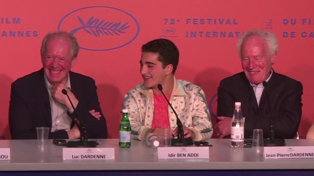 FRA: Cannes: Dardenne brothers give presser on film Young Ahmed
