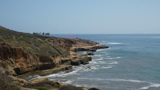 Two videos of ocean panorama in CA in 4K