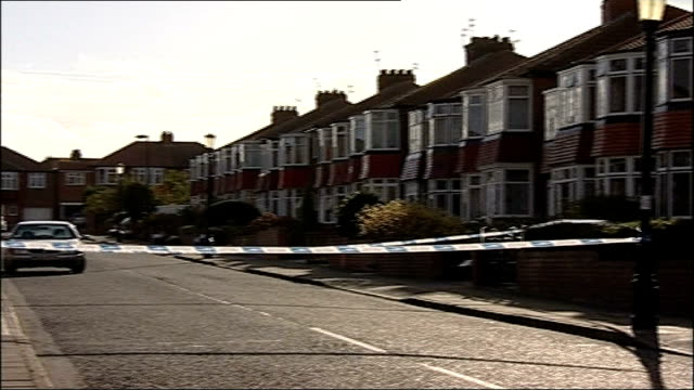 Two women and two children from same family found murdered in Newcastle ENGLAND Newcastle Kenton Hawthorn Gardens EXT General View of house where...
