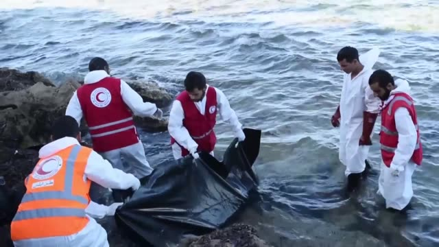 two women died of hypothermia during an operation to rescue more than 730 migrants off the libyan coast the italian coast guard and medical charity... - hypothermia stock videos and b-roll footage