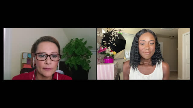 two women meet over zoom to conduct a job interview on zoom - interview event stock videos & royalty-free footage