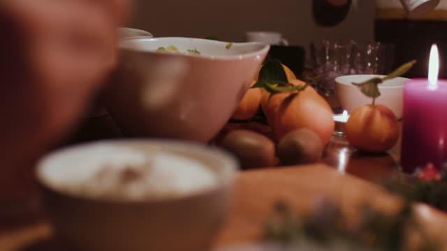 two women preparing desserts - yoghurt stock videos & royalty-free footage