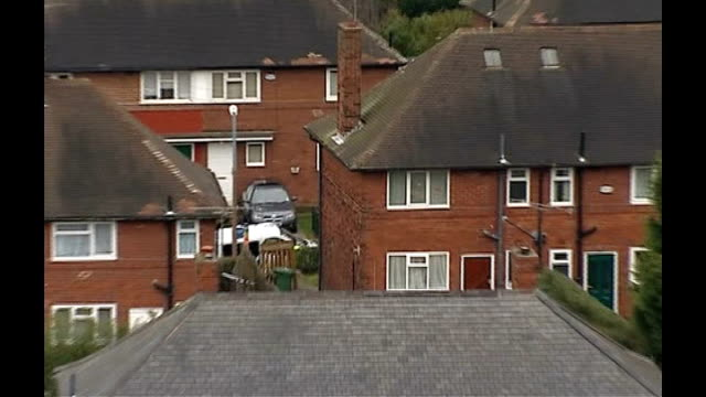 two year old girl murdered in leeds:; police van in road pull out general view of houses in area - general view stock videos & royalty-free footage