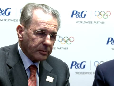 Two years before the start of the London Games Jacques Rogge President of the International Olympic Committee expressed his satisfaction at progress...