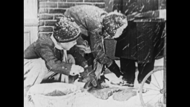 1926 two young boys' business idea becomes lucrative - 1926 stock videos & royalty-free footage