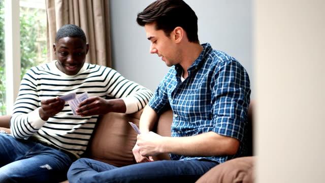 MS PAN zwei junge Männer-Spielkarten