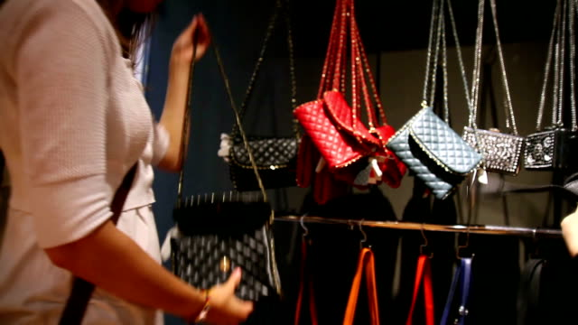 two young women purse shopping - purse stock videos & royalty-free footage
