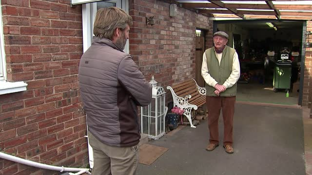 two young wrexham brothers start up blacksmith business; wales: wrexham: int low angle close shot ollie roberts hammering metal gv harvey roberts... - welding stock videos & royalty-free footage